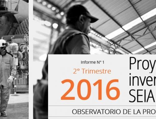 CPC presenta primer informe del Observatorio de la Productividad: Proyectos de inversión en el SEIA