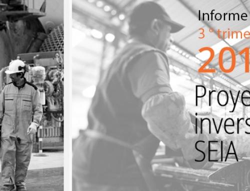 Nuevo Informe CPC sobre Proyectos de Inversión en el SEIA (3° Trimestre 2016)