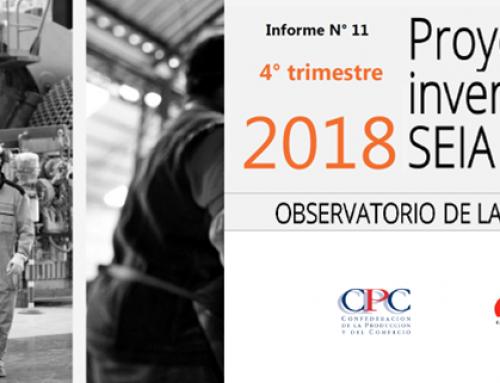 Informe N° 11 del Observatorio de la Productividad: Proyectos de inversión en el SEIA