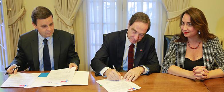 CPC firma convenio de colaboracion con Ministerio de Justicia y DDHH