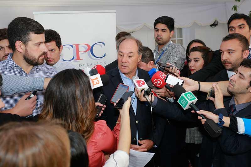 Juan Sutil fue elegido nuevo Presidente de la CPC