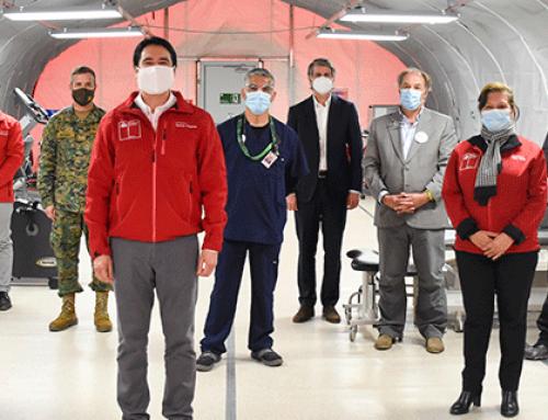 Barrick se suma al fondo empresarial de la CPC y dona moderno hospital de campaña al Ejército para ayudar a enfrentar la pandemia