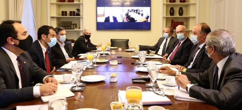 Ministro y Subsecretario del Interior se reúnen con la CPC por tema Araucanía Slayer