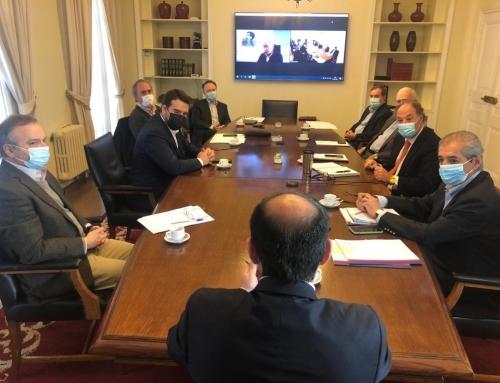 Nuevo gobernador de La Araucanía se reúne con presidente de la CPC y de sus ramas