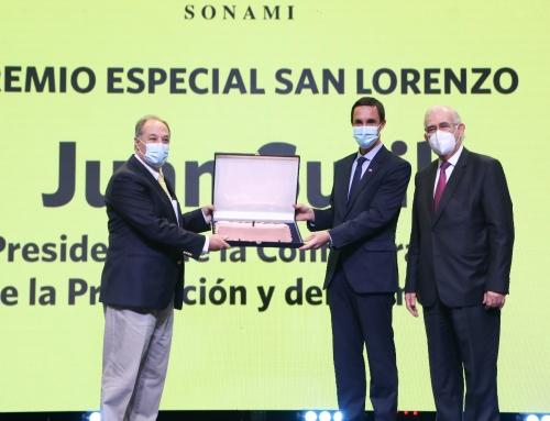 SONAMI celebra el Día del Minero y entrega premio especial al presidente de la CPC