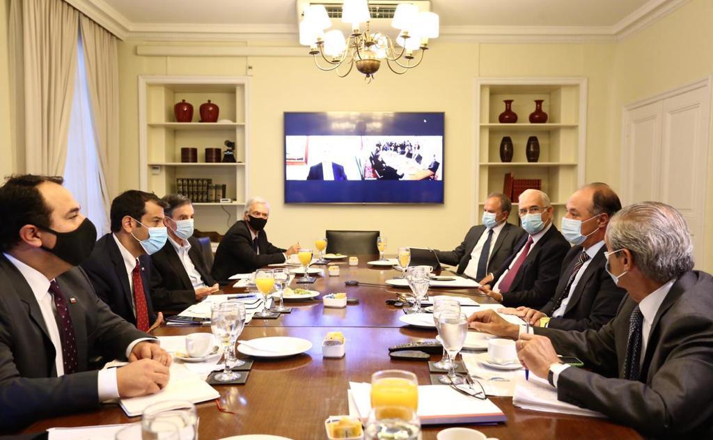 Ministro y Subsecretario del Interior se reúnen con la CPC por tema Araucanía 2marzo2021 1