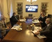 Reunión con Ministro del Trabajo Patricio Melero